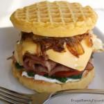 Pub Waffle Sandwich with Aunt Jemima Frozen Waffles