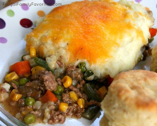 recipe for shepherds pie